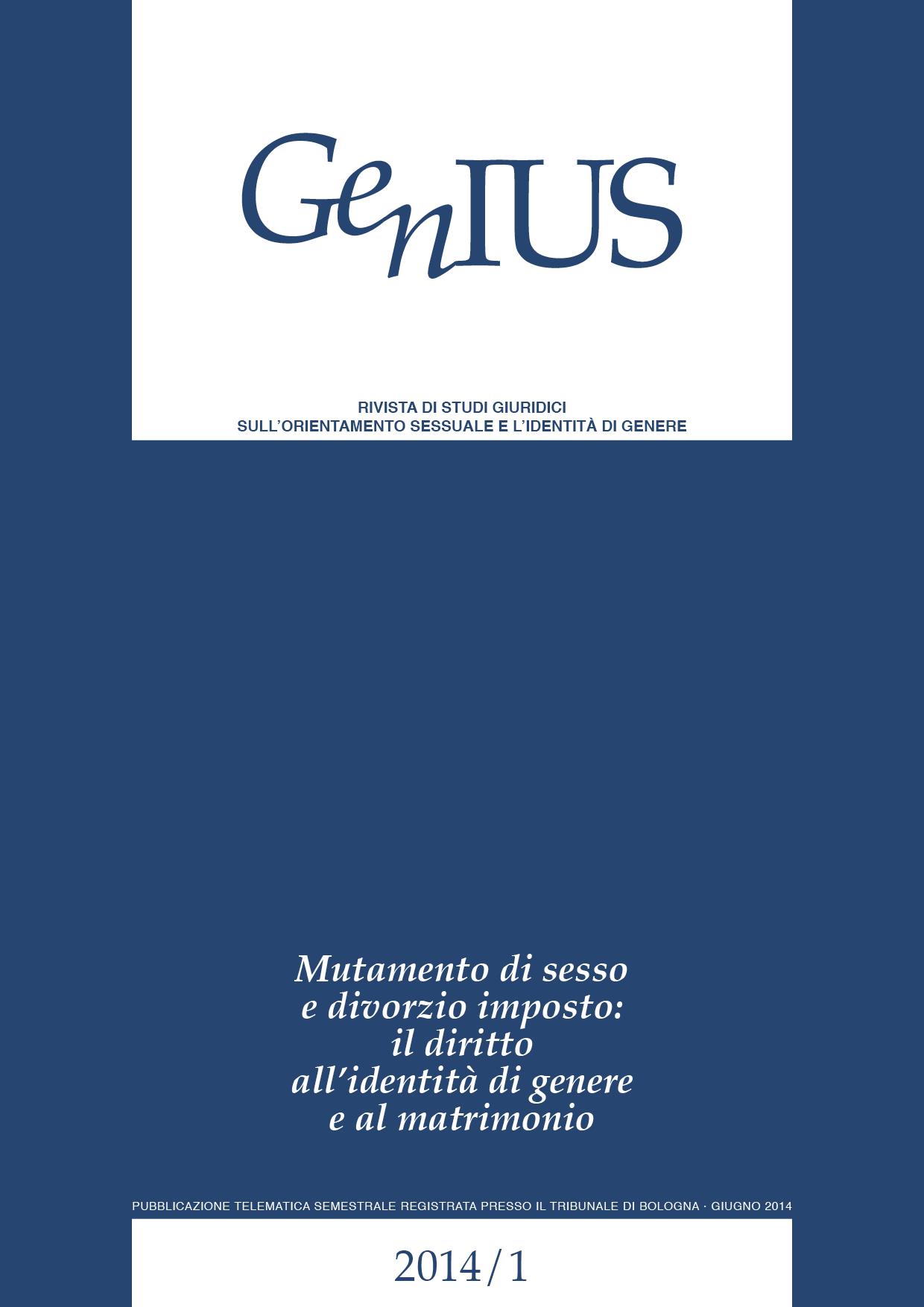 GenIUS 2014/01 - Giugno 2014