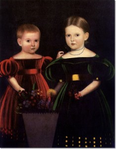 unknown-artist-two-children-from-the-torrey-family-1835