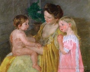 mother-and-two-children-by-Mary-Cassatt-299